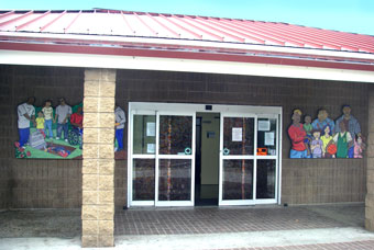 Front of Nevin Community Center