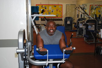 Weight Machine at Booker T. Anderson