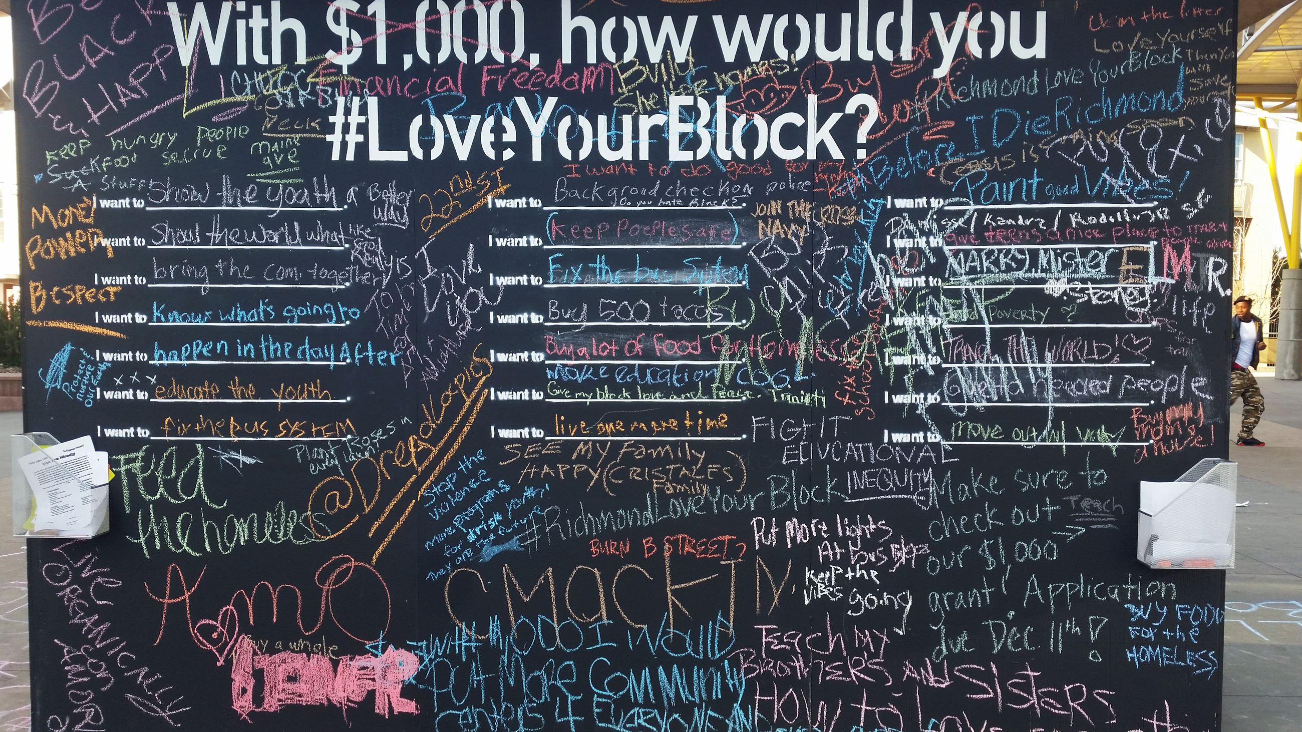 love your block board