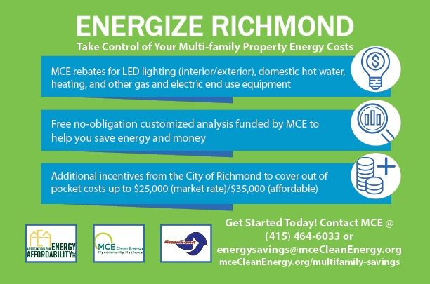 Energize Richmond multi family flyer English