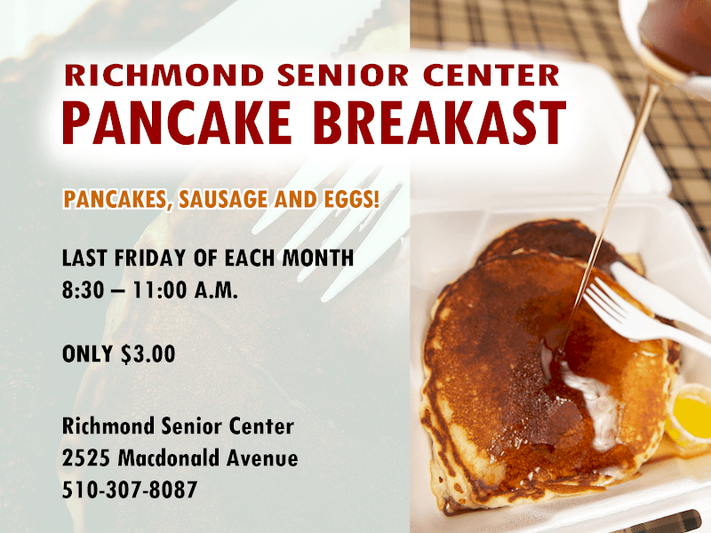 Richmond Senior Center Pancake Breakfast