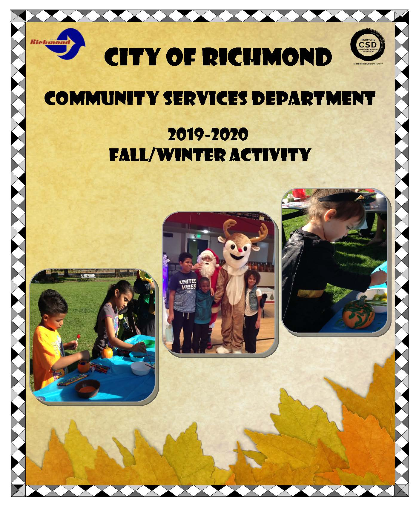 2019-20 Fall-Winter Activity Guide