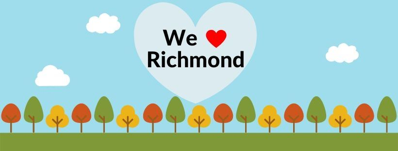We Heart Richmond Rectangle logo