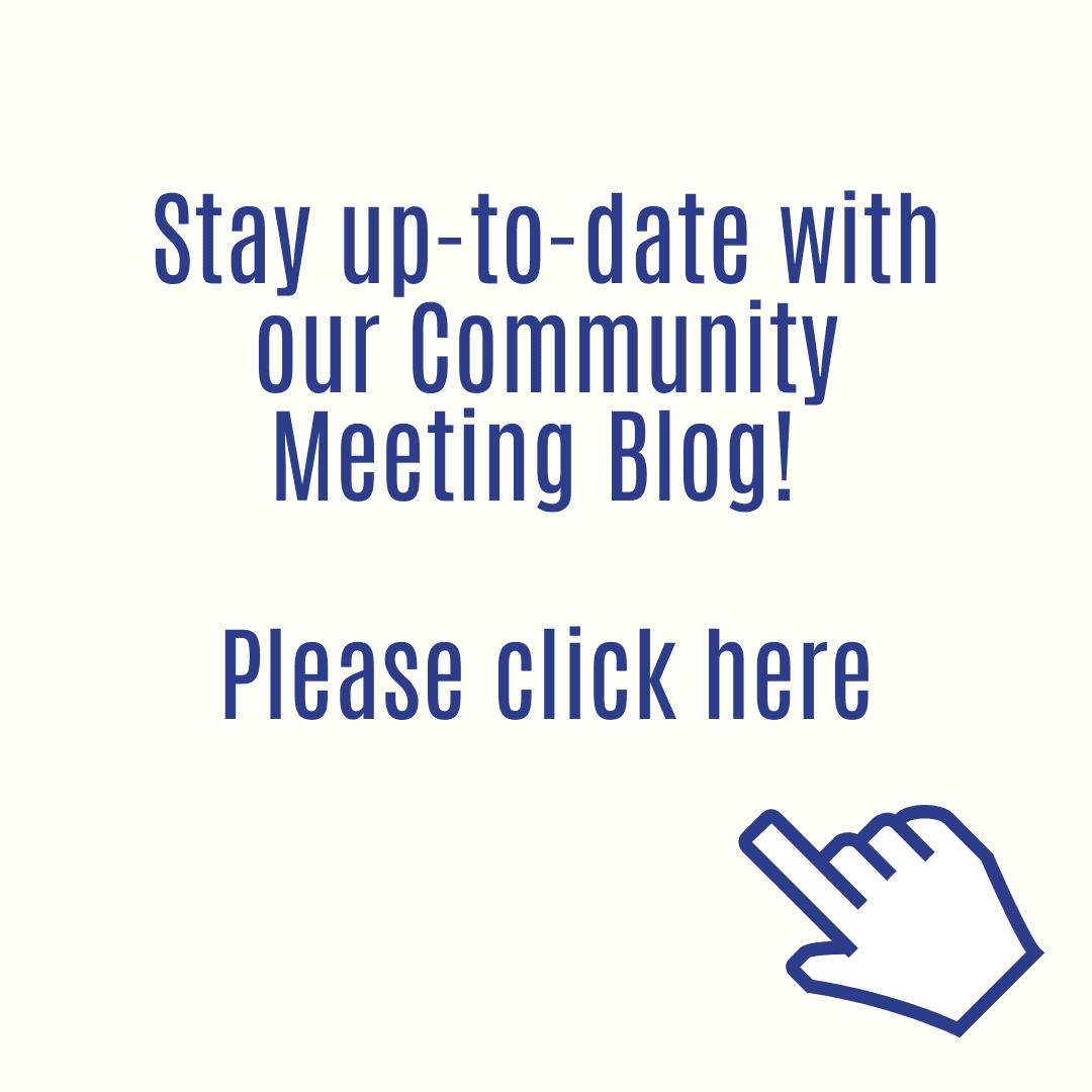 Community Meeting Blog