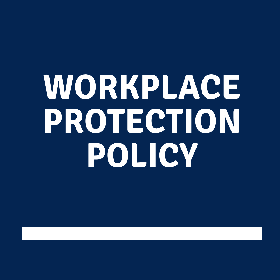 Workplace Protection Policy