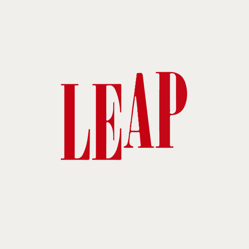 LEAP logo Opens in new window