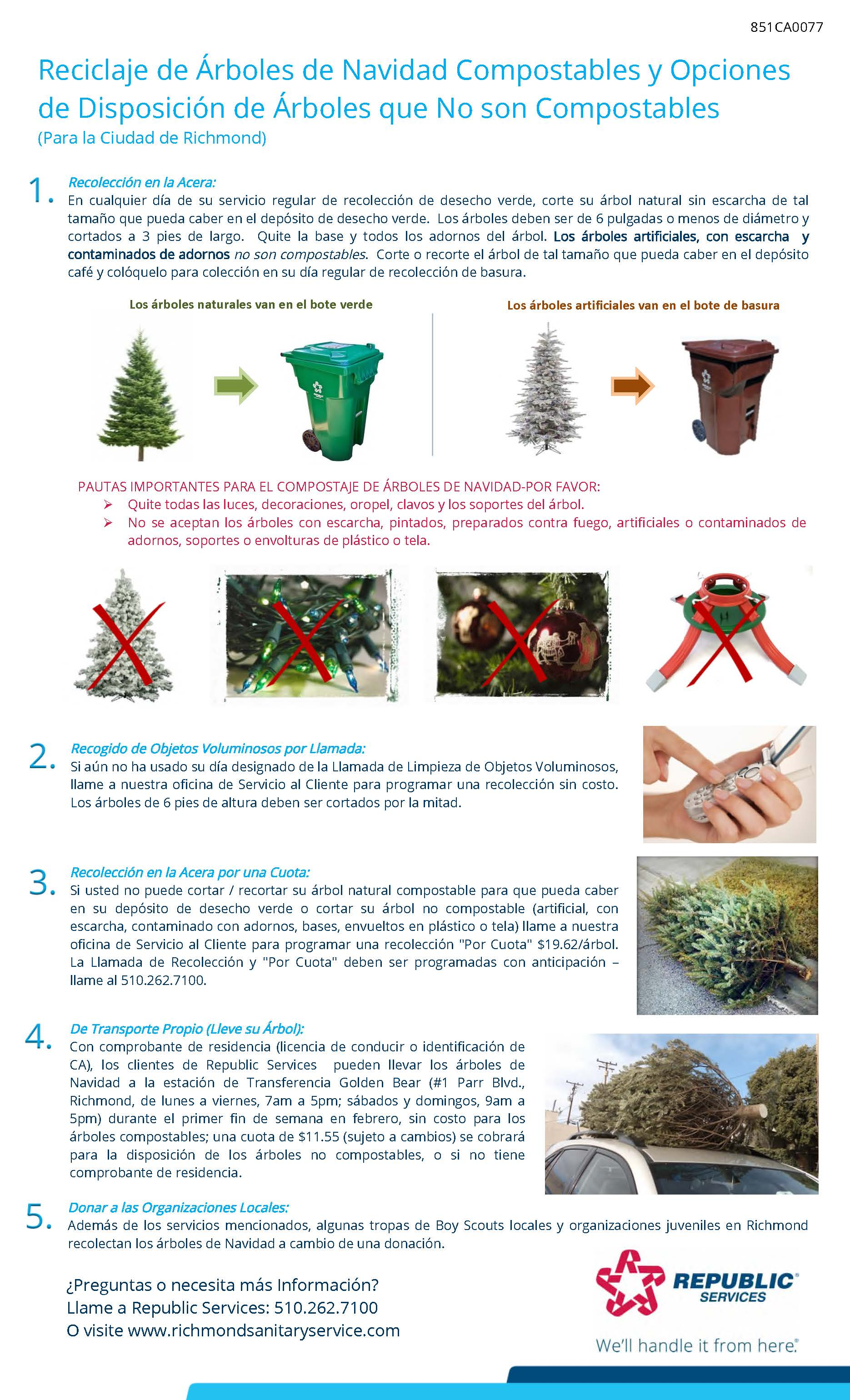 Richmond 2019 Christmas Tree flyer_Spanish