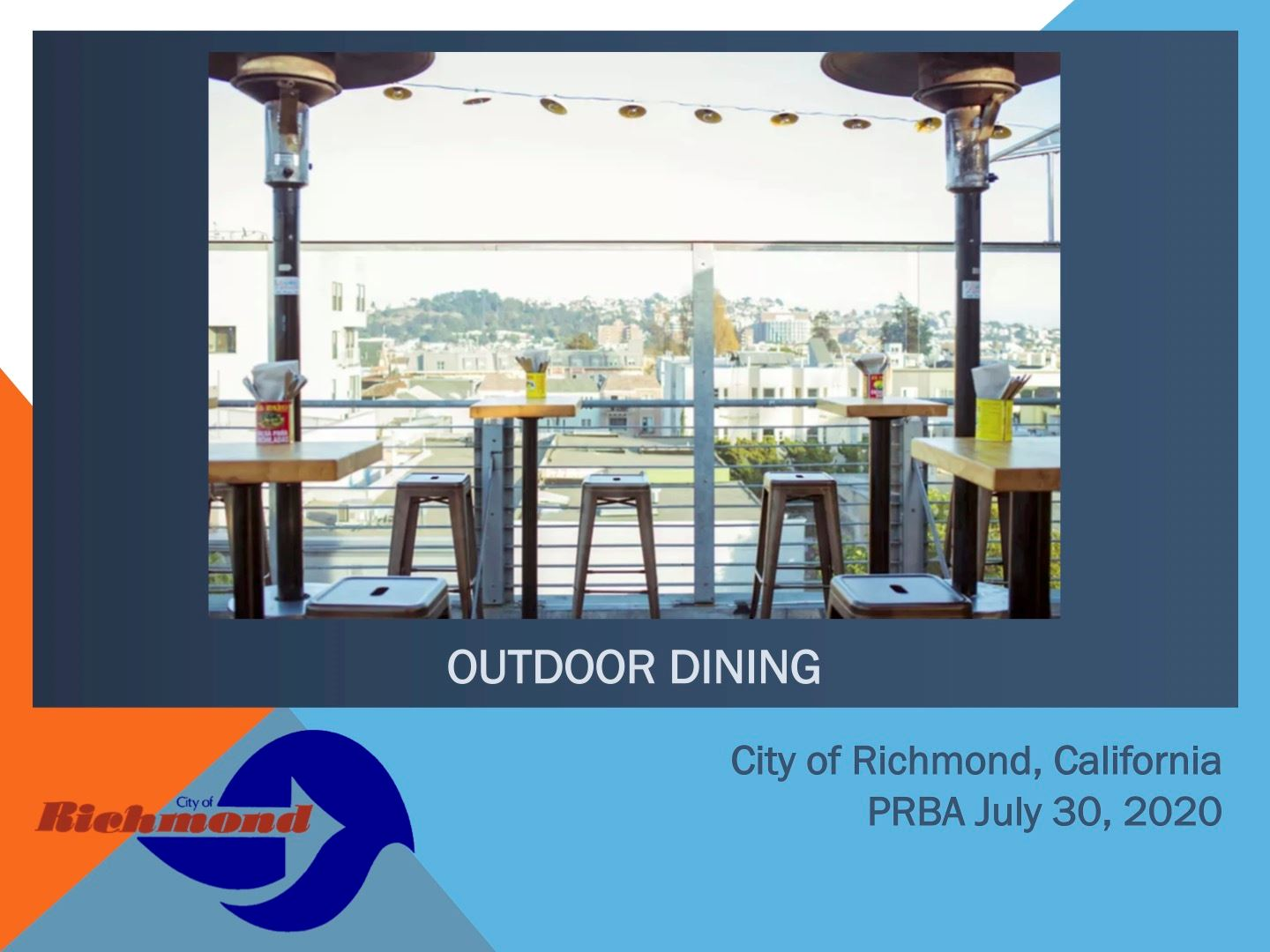 Outdoor Dining Information for Applicants Opens in new window